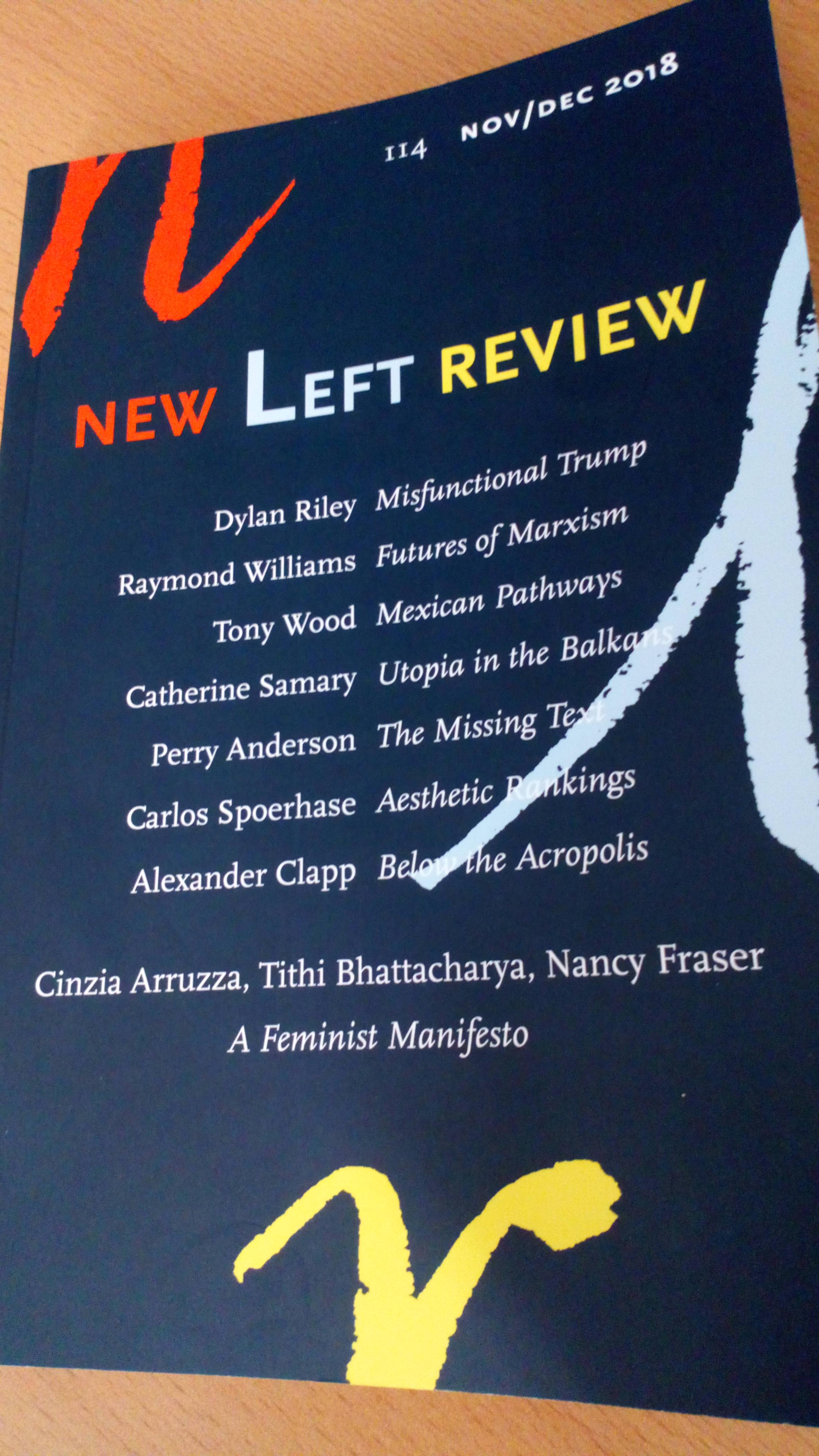 Marxist Left Review 1